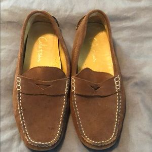 Cole Haan brown suede moccasin size 8